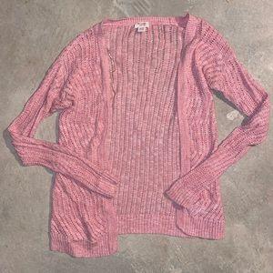Mossimo Pink Cardigan XS